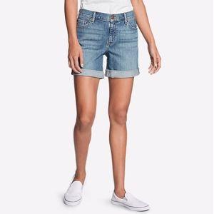 Eddie Bauer Boyfriend Bermuda Shorts, Size 4
